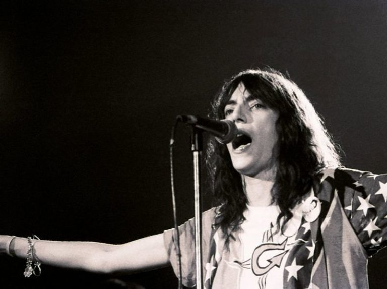 Patti Smith's punk cover of the Velvet Underground song 'Pale Blue Eyes' in 1976