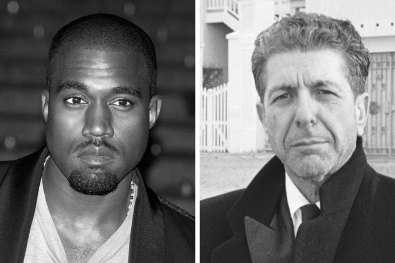 Leonard Cohen wrote the poem 'Kanye West Is Not Picasso'
