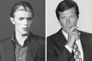 David Bowie's awkward friendship with Roger Moore