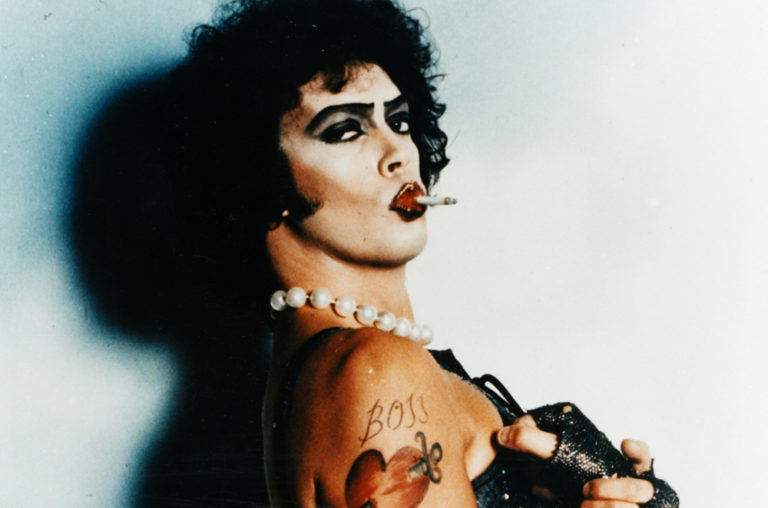 Newly found photos from behind-the-scenes of 'The Rocky Horror Picture Show'