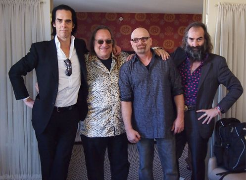 Nick Cave collaborates with Larry 'Ratso' Sloman on new song 'Our Lady of Light'