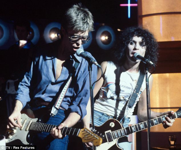 Remebering how Bowie saved Marc Bolan's son