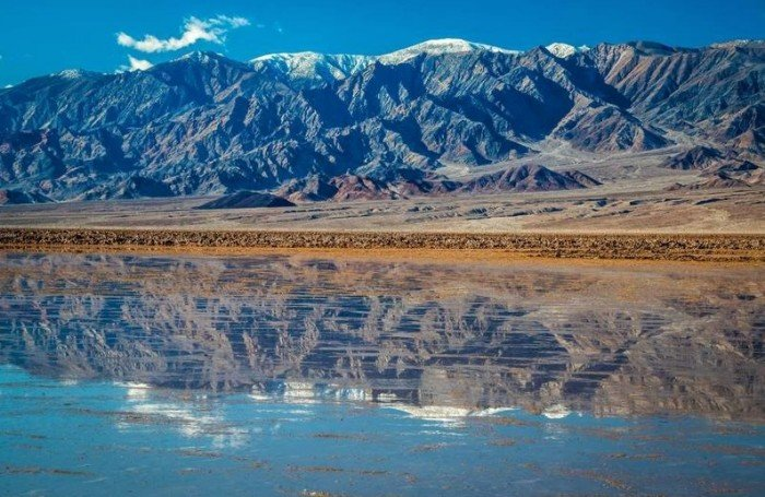 A lake has been discovered in Death Valley, California