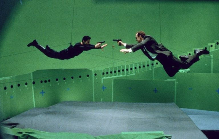 Behind-the-scenes photos from 90s sci-fi classic 'The Matrix'