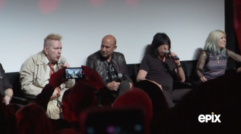 Johnny Rotten and Marky Ramone fight on punk rock panel