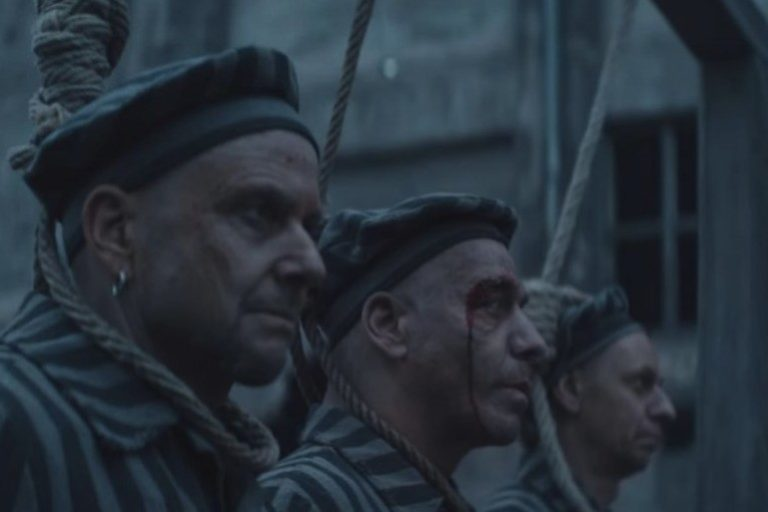 Rammstein condemned for alleged use of Holocaust imagery video