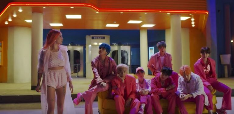 BTS and Halsey release teaser trailer for their song 'Boy With Luv'