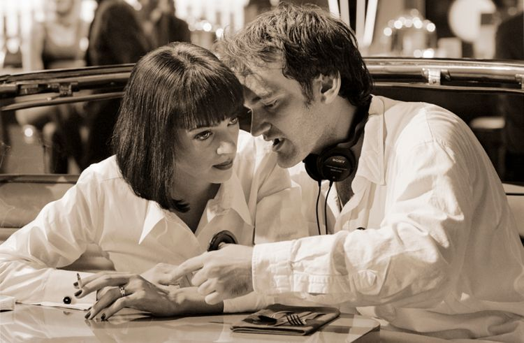 Behind-the-scenes photos of Quentin Tarantino masterpiece 'Pulp Fiction'