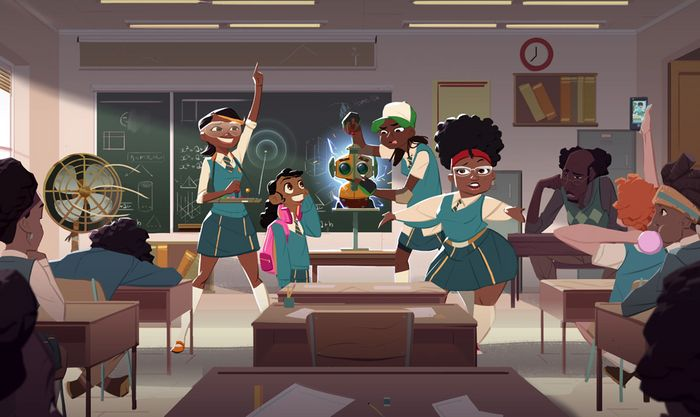 Netflix pick up first African animated series 'Mama K's Team 4'