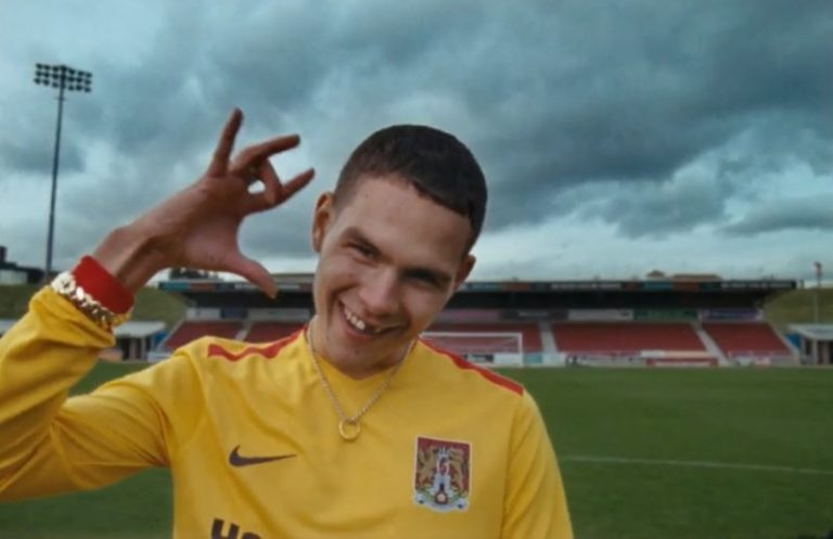 Slowthai steps into Northampton Town FC for new 'Gorgeous' video