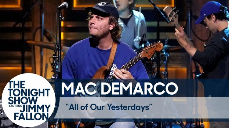 Watch Mac DeMarco perform 'All Of Our Yesterdays' live on Fallon