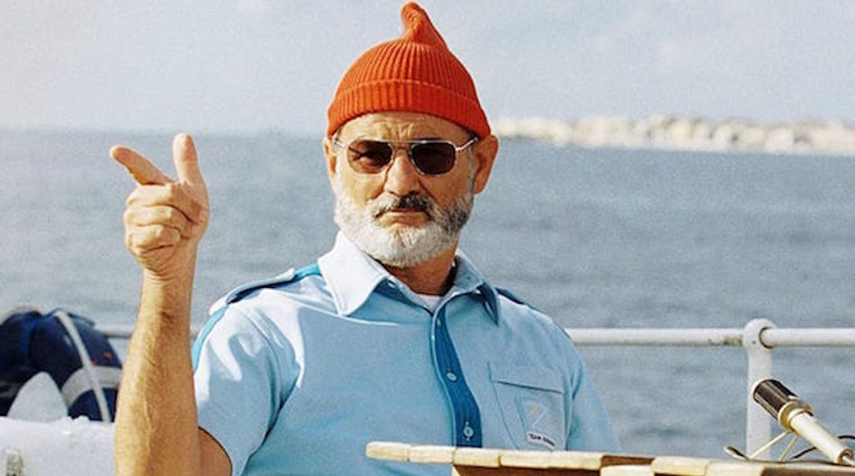 Bill Murray's fake Wes Anderson inspired slow-motion film