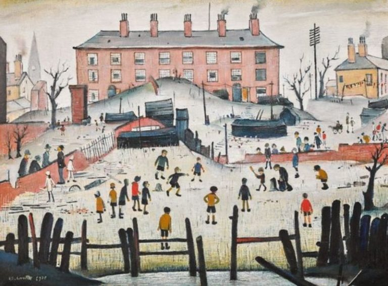 LS Lowry's cricket match painting set to sell for £1m