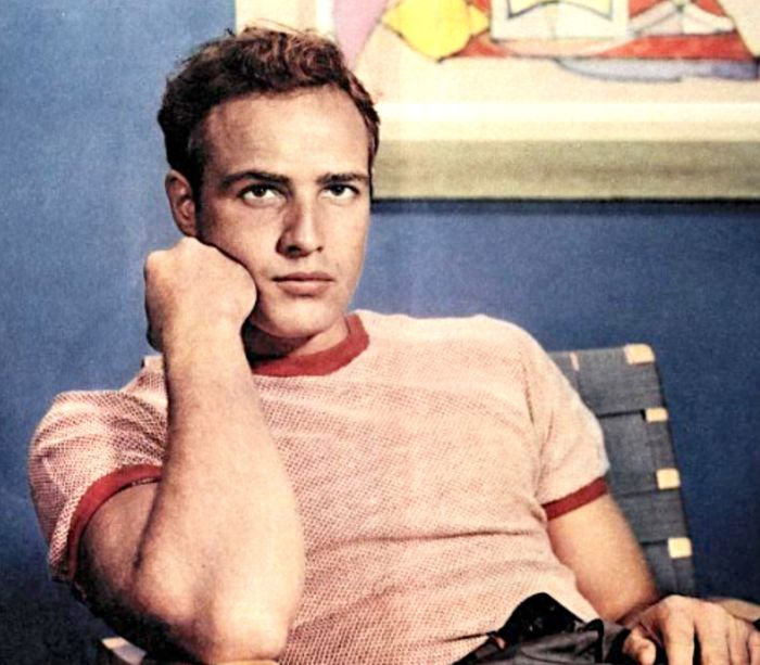 Marlon Brando first screen test for 'Rebel Without A Cause'