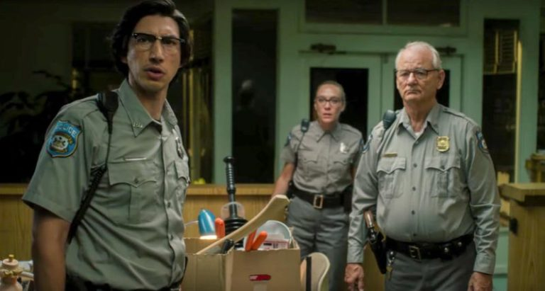 New clip from Jim Jarmusch's 'Dead Don't Die' starring Bill Murray, Adam Driver, and Chloe Sevigny