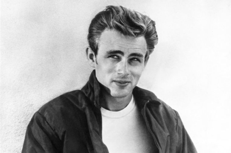 Original footage of James Dean's screen test for 'Rebel Without A Cause'
