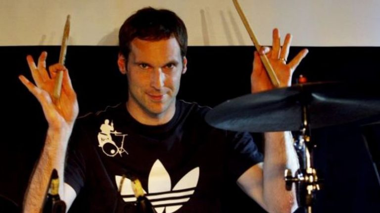 Petr Cech releases charity single with Queen drummer Roger Taylor