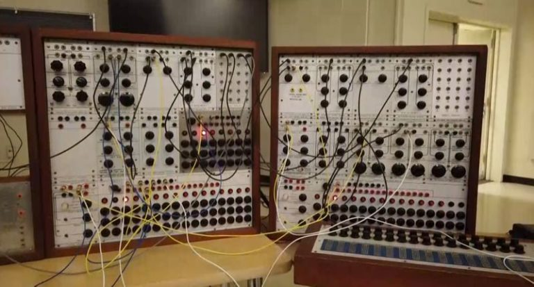 Synth engineer accidentally gets high after touching old LSD on a 1960s synthesizer