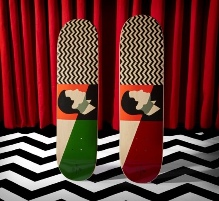David Lynch teams up with Habitat Skateboards for 'Twin Peaks' inspired line