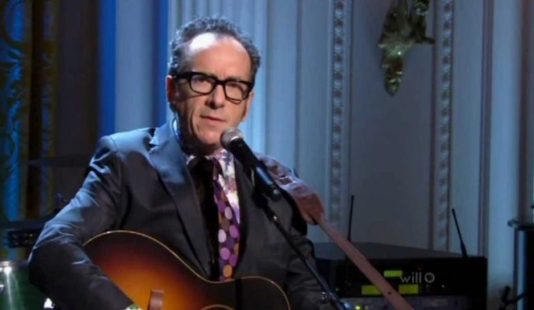 When Elvis Costello sang 'Penny Lane' for Paul McCartney at the White House
