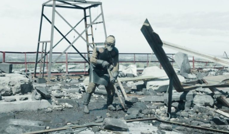 Scenes from HBO's Chernobyl compared to real-life footage shot in Pripyat, 1986