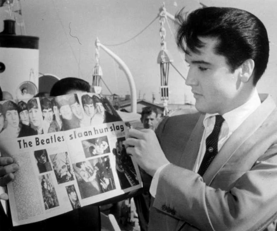 Elvis covers The Beatles' 'Yesterday' and 'Hey Jude' in Las Vegas