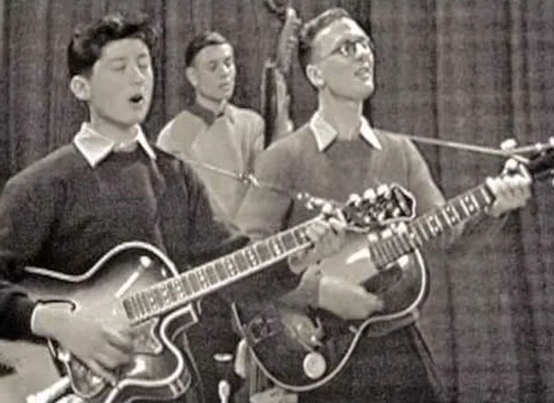 atch a 13-year-old Jimmy Page play the guitar on a BBC talent show, 1958