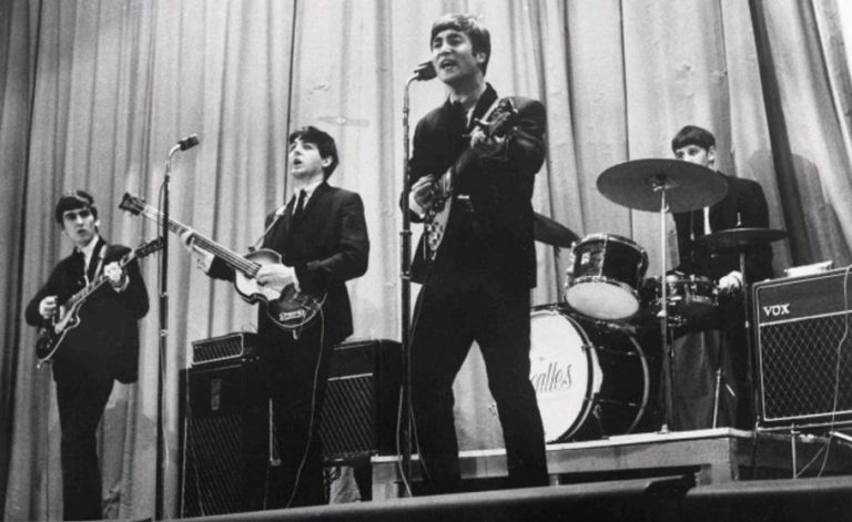 Relive The Beatles performing 'Twist and Shout' for royalty, 1963