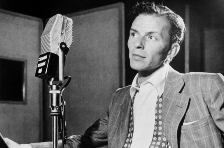 Revisit the great Frank Sinatra performing The Beatles song 'Something' live