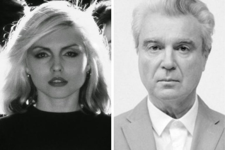 Talking Heads once asked Debbie Harry to be their singer