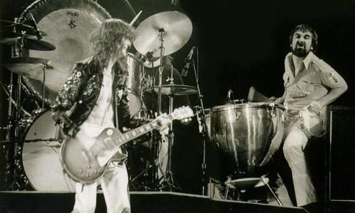 Remembering Keith Moon's last ever performance as he joined Led Zeppelin on stage