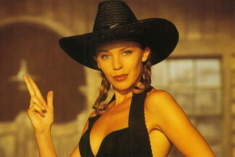 A selection of dreamy pictures of a young Kylie Minogue5