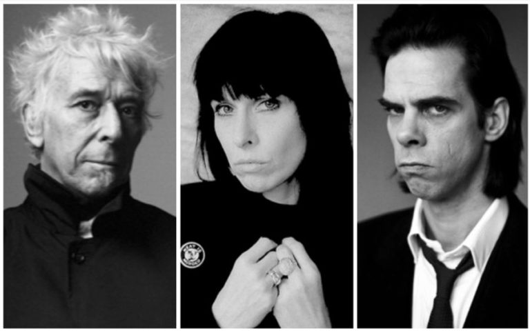 John Cale, Nick Cave and Chrissie Hynde covering The Velvet Underground live