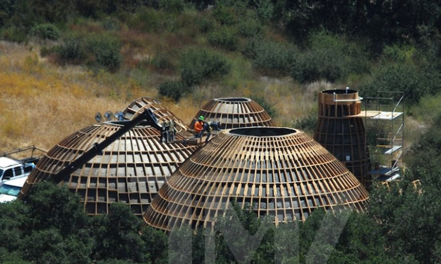 Kanye West is building elite Star Wars-inspired domes in Calabasas, Los Angeles