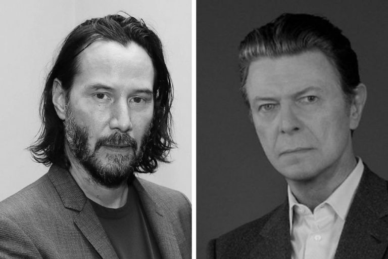 The crossing paths of David Bowie and Keanu Reeves