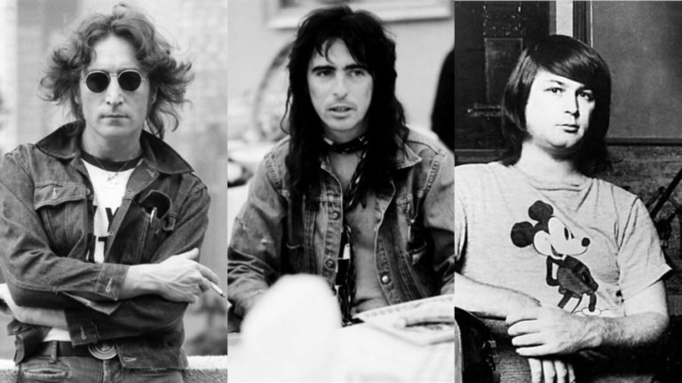 Remembering the moment Alice Cooper finally introduced Brian Wilson to John Lennon