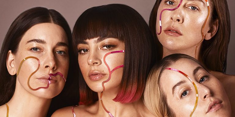 Charli-XCX-HAIM via Atlantic Records