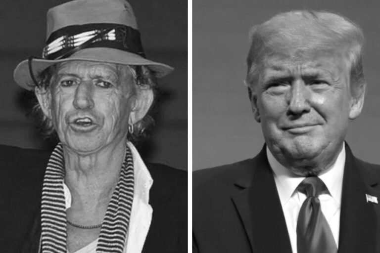 Keith Richards once allegedly considered stabbing Donald Trump