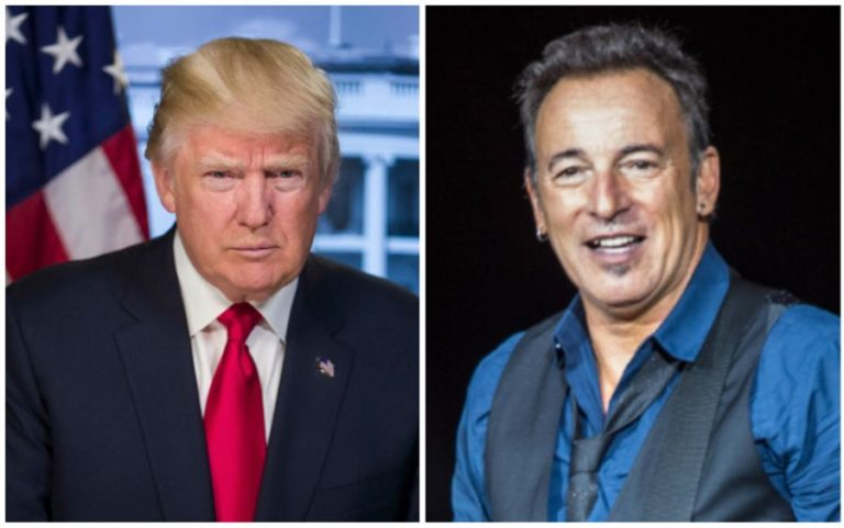 Bruce Springsteen says that Donald Trump _doesn't know what it means to be an American