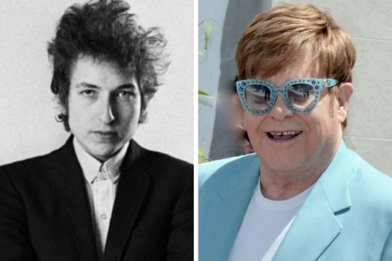 "Elton John once tried to give ""scruffy"" Bob Dylan a makeover"