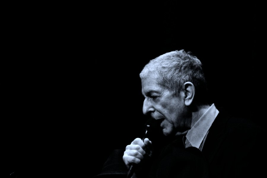 Leonard Cohen happens to the heart video