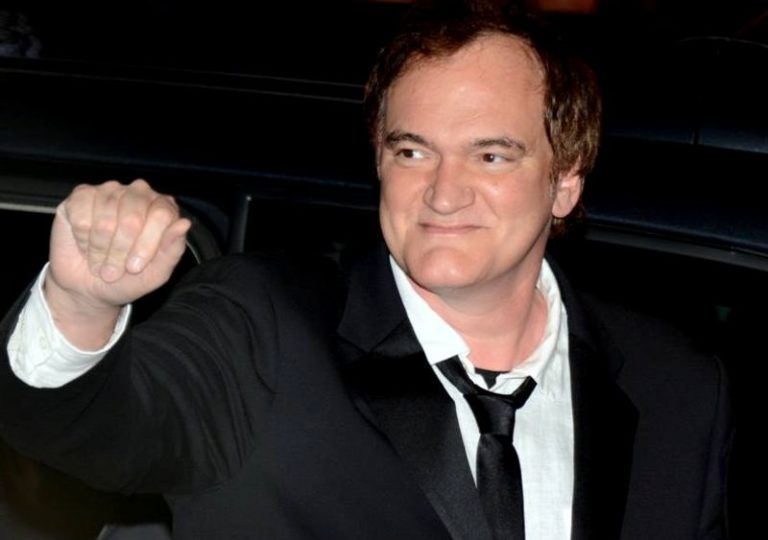 Greta Gerwig reduces Quentin Tarantino to tears with emotional speech