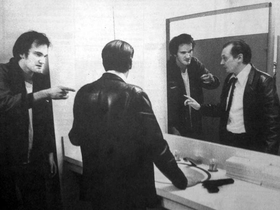 Watch a rare clip of Quentin Tarantino and Steve Buscemi working on 'Reservoir Dogs'