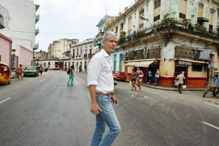 Anthony Bourdain's favourite songs from the 1980