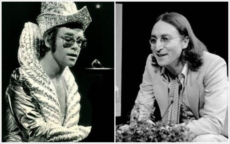 John Lennon S Last Concert Was With Elton John In 1974