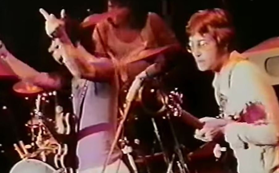 Frank Zappa Joined On Stage By John Lennon And Yoko Ono