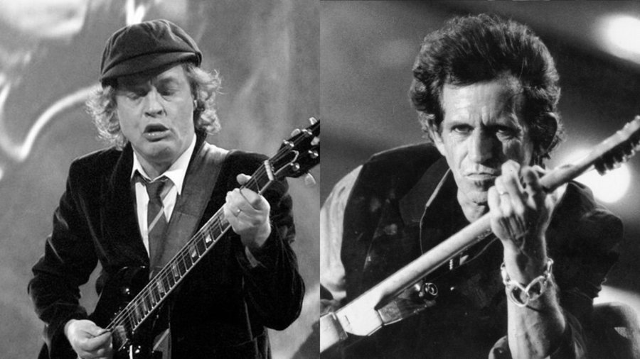 Ac Dc S Angus Young Disrespects Keith Richards In Interview