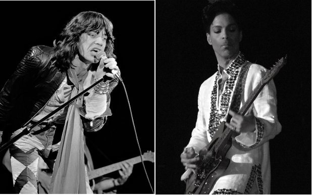 Prince covers The Rolling Stones