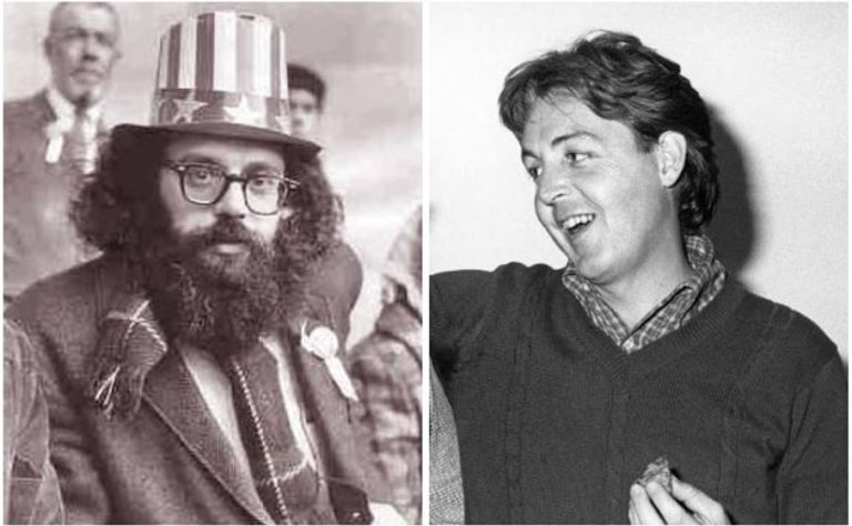 Remembering the moment Paul McCartney joined Allen Ginsberg to perform 'Ballad of the Skeletons'