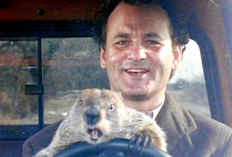 Bill Murray is reprising his 'Groundhog Day' role